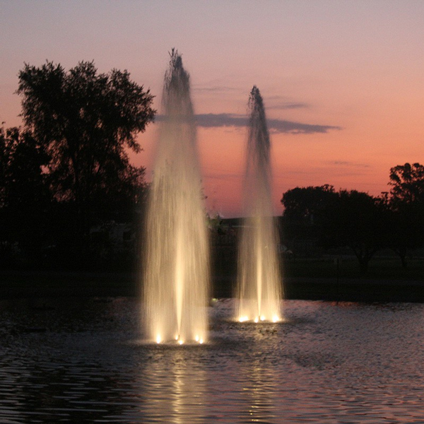 Kasco LED Stainless Steel Lighting for 2-7 ½ HP Fountains 400 ft. Cord (MPN LED6S19400)