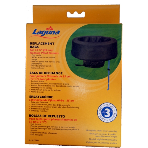 "Laguna 13.75"" Replacement Bags for Laguna Floating Plant Basket (MPN PT985)"