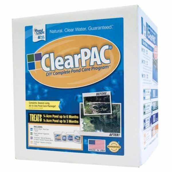 Pond Logic ClearPAC without Algae Defense (MPN 700107)