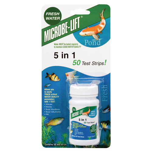 Microbe-Lift 5 in 1 Test Strips (50 strips) (MPN test5)