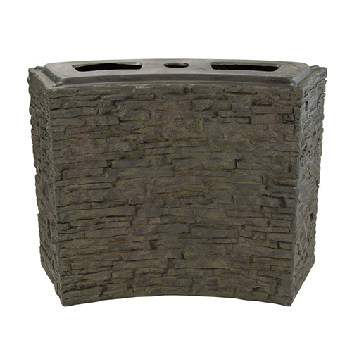 Aquascape Large Curved Stacked Slate Wall Base (MPN 78282)