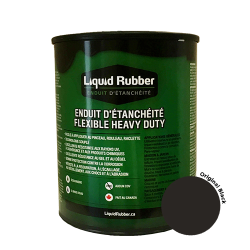 Liquid Rubber Waterproof Sealant Original Black 32 oz.