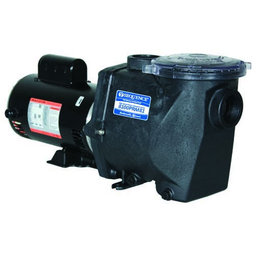 Sequence self primer external pond pump 230v mpn for Best pond pumps