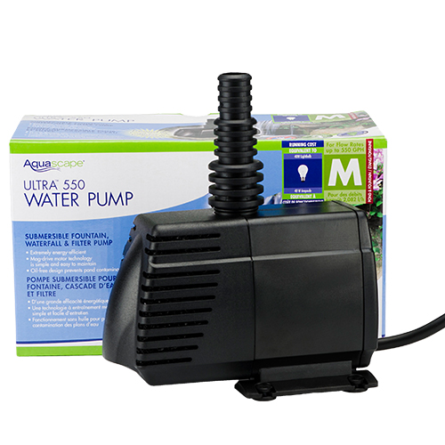 Aquascape Ultra Pump 550 GPH (MPN 91006)