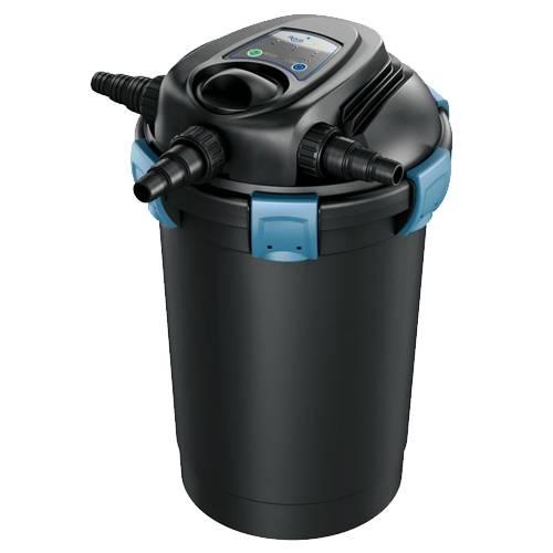 Aquascape ultraklean 3500 pressure filter w 28watt uvc for Best pond pressure filter