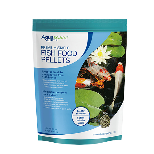 Aquascape Premium Staple Fish Food, Medium Pellet 2.2 lb (MPN 98868)