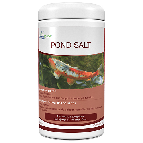 Aquascape Pond Salt 2 Lbs Mpn 99416 Best Prices On Everything For Ponds And Water Gardens Webb S Water Gardens