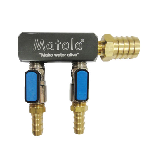 "Matala 2 Way Heavy Duty Manifold 3/8"". (MPN SC2-38)"