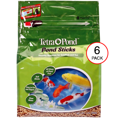 Tetra Floating Food Sticks 1 lb. (6 pack) (MPN 16482)