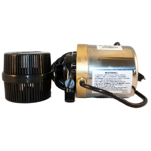 Calpump bronze stainless with barrel filter 01508 mpn for Pond intake filter