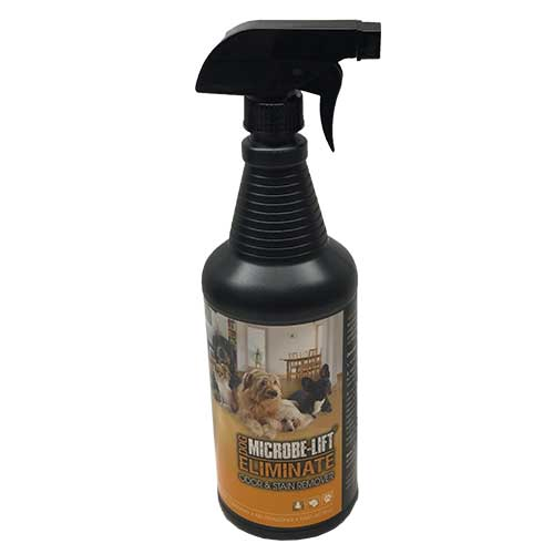 Microbe-Lift Eliminate Odor & Stain Remover - Dog (INDOORS) 32 oz (MPN ELIMDOGQ)
