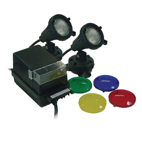EasyPro (2) 20 Watt Halogen Lights and Transformer (MPN EPLK2)