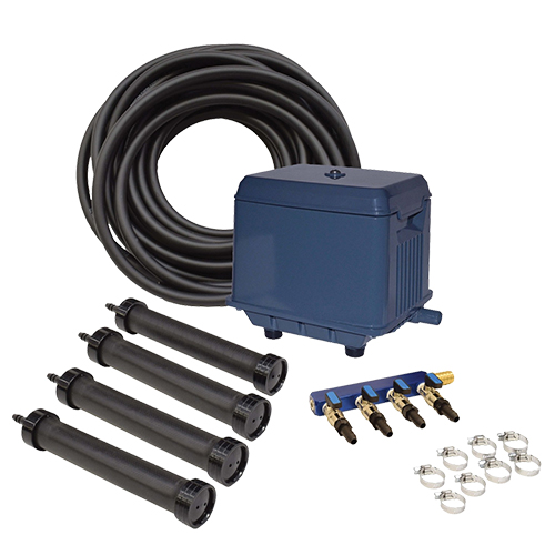 EasyPro KLC Koi Pond Aeration Kit - 4000 to 30000 gallon ponds (MPN LA4)