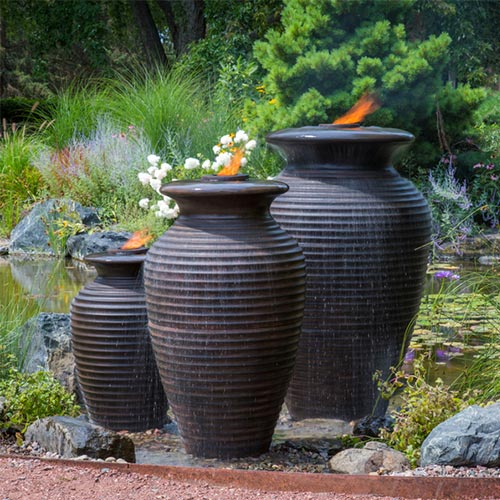 Aquascape Medium Rippled URN (MPN 78242)
