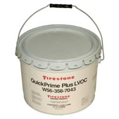 Firestone QuickPrime Plus LVOC, 3 Gallons (MPN W563587043)