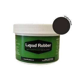 Liquid Rubber Waterproof Sealant Original Black 8 oz.