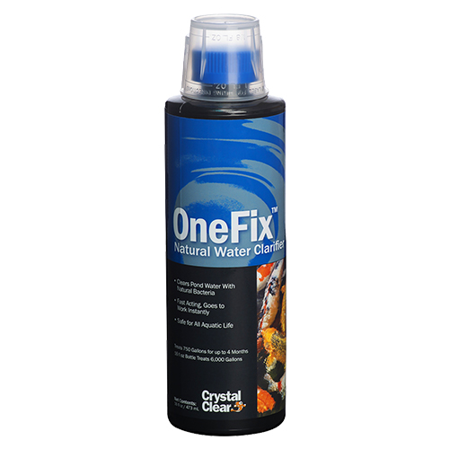CrystalClear OneFix Natural Water Clarifier 16 oz (MPN CC021-16)