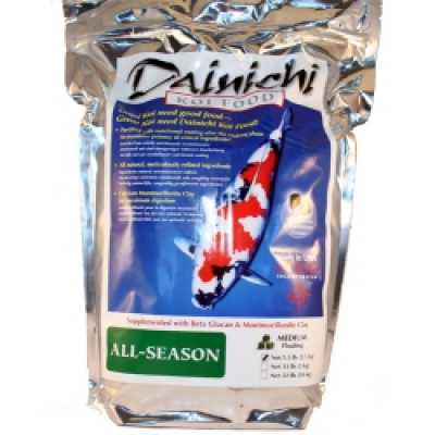 Dainichi All Season Koi Food, Sml Pellet 11 lbs