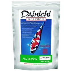 01123 - Dainichi All Season Koi Food, Medium Pellet 11 lbs