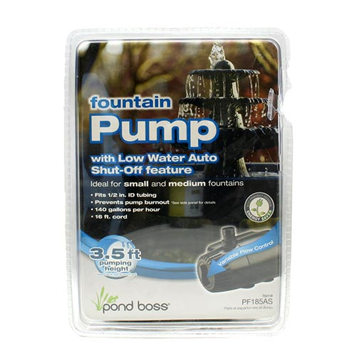 Pond Boss 140 GPH Fountain Pump (MPN PF185AS)
