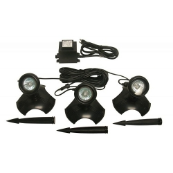 Alpine Set of 3-20 watt lights with trans (MPN PLD320T)
