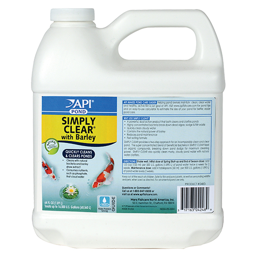 API Pond Simply Clear 64 oz. (MPN 248D)