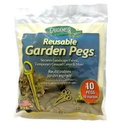 Gardeneer Reusable Garden Pegs (MPN RGP-10)