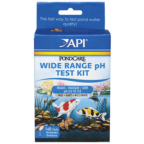 API PondCare Wide Range pH Test Kit (MPN 160)