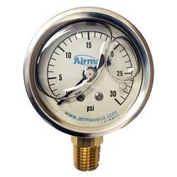 Airmax Liquid Filled Pressure Gauge (MPN 490272)