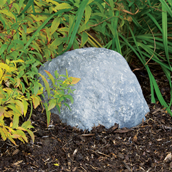 "Pond Logic Grey Mini Boulder w/ Vent Holes 10"" x 8"" x 5"" H (MPN 510403-G)"