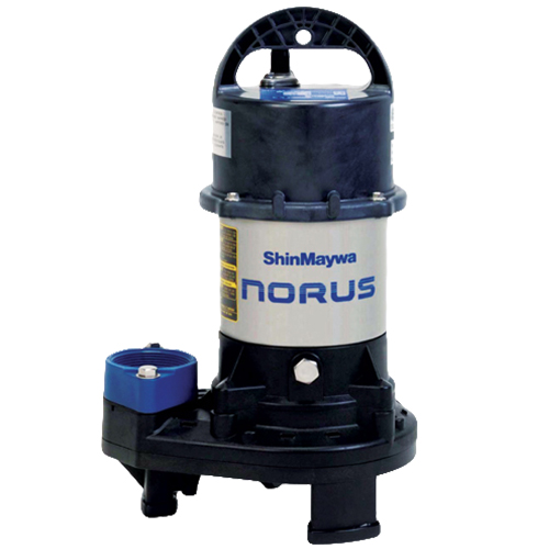 Shinmaywa Norus Stainless Steel Submersible 1 HP Pump (MPN 50CR2.75S)