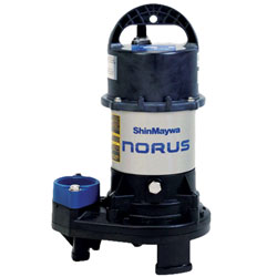 11076 - Shinmaywa Norus Stainless Steel Submersible 1 HP Pump (MPN 50CR2.75S)