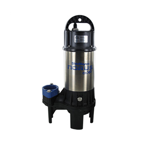 Shinmaywa Norus Stainless Steel Submersible 1 HP Pump (MPN 50CRXP2.75S)