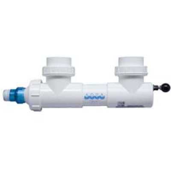 """Aqua Ultraviolet 15 watt UV, 3/4"""" barbs, white, w/wiper (MPN A00011)"""