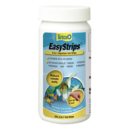 19543 - Tetra EasyStrips 6-in-1 Aquarium Test Strips - 100 ct (MPN 19543)
