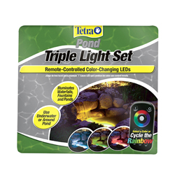 Tetra Color Changing Triple Light Set w/Remote (MPN 19763)
