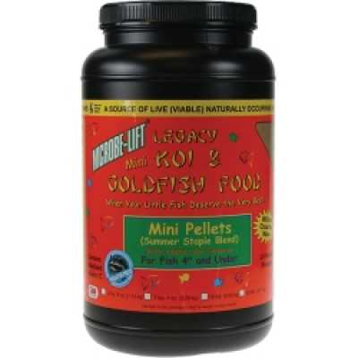 Microbe-Lift Mini Pellets 2 lbs. 4 oz. (MPN MLLMPMD)