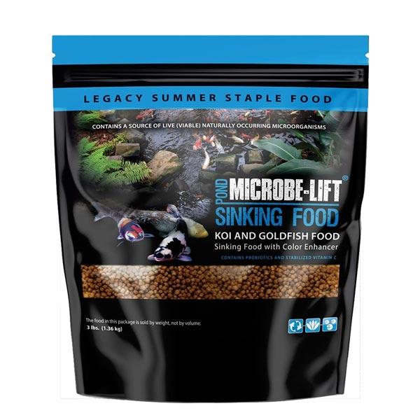 Microbe-Lift Sinking Pellets 3 lbs (MPN MLLSPMD)