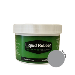 Liquid Rubber Waterproof Sealant Medium Grey 8 oz.