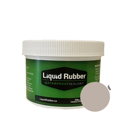 Liquid Rubber Waterproof Sealant Tan 8 oz.