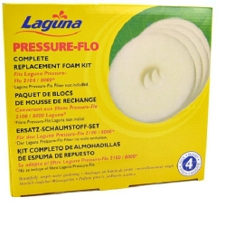 Laguna Pressure-Flo 2100 Replacement Foam 4 pk (MPN PT1505)