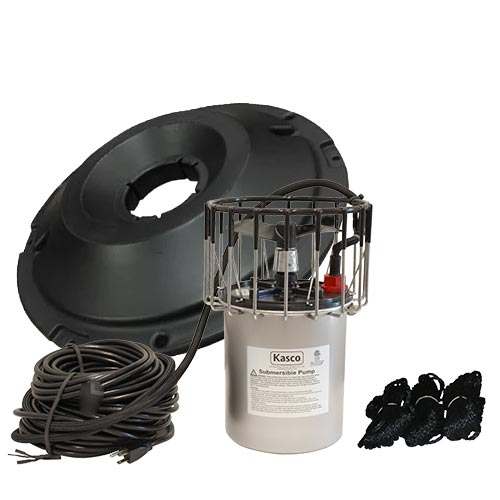 Kasco 8400AF 2HP Surface Aerator 100ft Cord with Float (MPN 8400AF100)