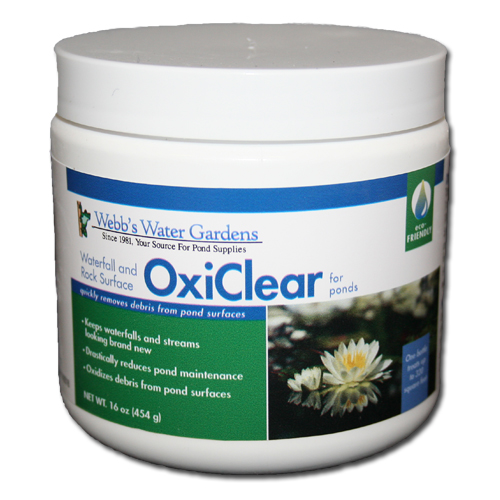 Webb's Water Gardens Waterfall and Rock Surface OxiClear 16oz