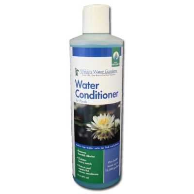 Webb's Water Gardens Water Conditioner for Ponds 16 oz