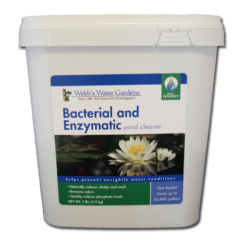 Webb's Water Gardens Bacterial and Enzymatic Pond Cleaner 7 lbs
