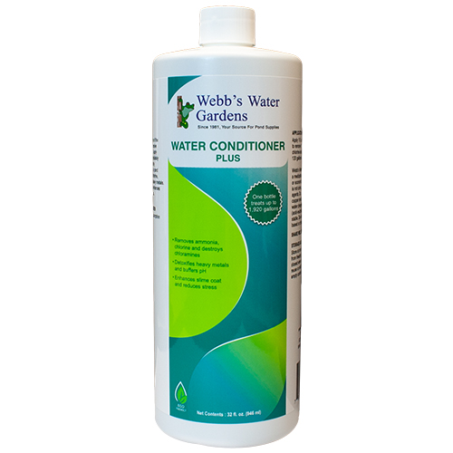 27690 - Webb's Water Gardens Water Conditioner Plus 32 oz (MPN 27690)