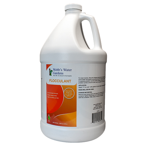 Webb's Water Gardens Flocculant 1 Gal (MPN 27751)