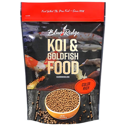 Blue Ridge Floating Color Rich Fish Food 2 lbs