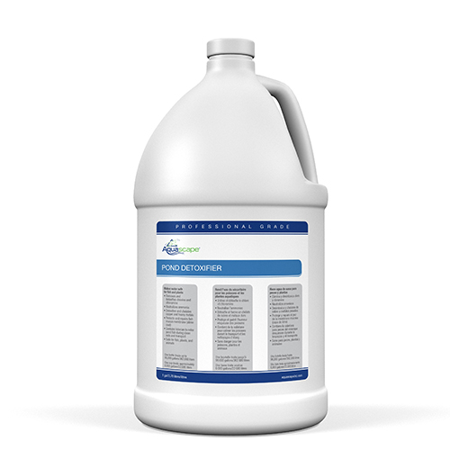 AquascapePRO Pond Detoxifier 1 gallon - professional use (MPN 30410)