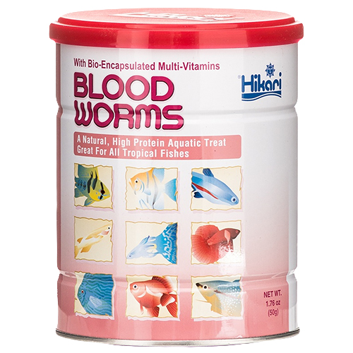 Hikari Freeze Dry Blood Worms 1.76 oz. (4 pack) (MPN 33210)